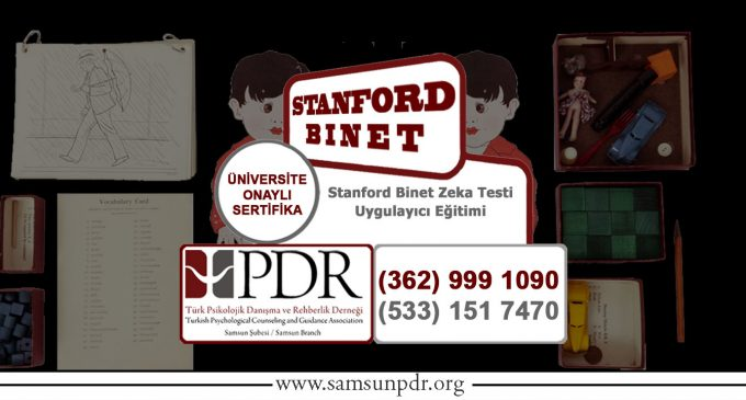 #Eğitim: Stanford Binet