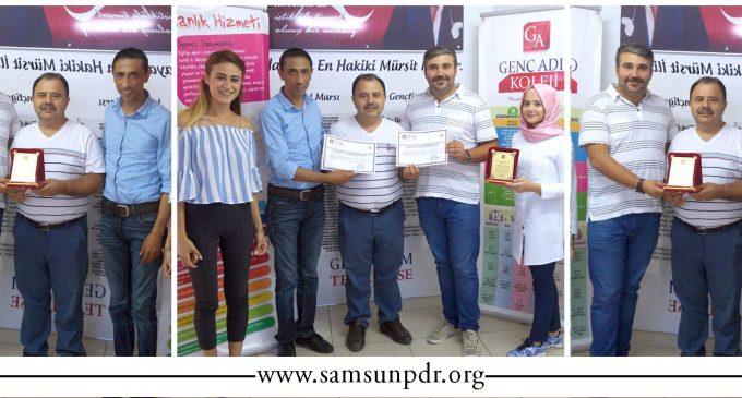 Genç Adım Okulları PDR Hizmetleri Yetkinlik Sertifikasını Aldı