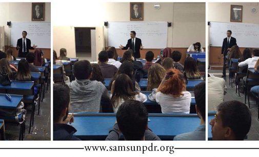 OMÜ; PDR'nin Geleceği ve Kariyer Olanakları Konferansı