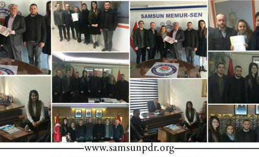 Sendika ve Parti Başkanlıklarını Ziyaretimiz