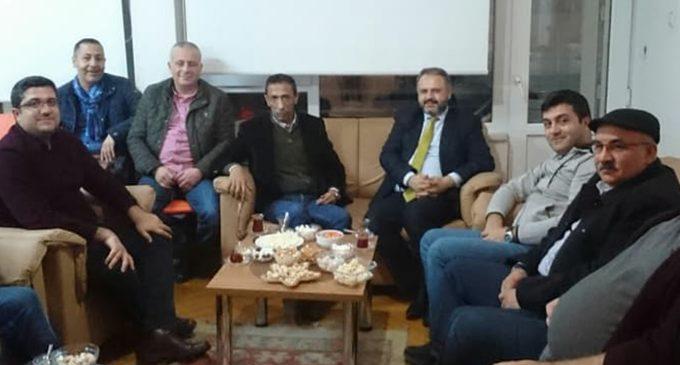 Türk Ocakları Samsun Şubesi nin Ziyaretleri
