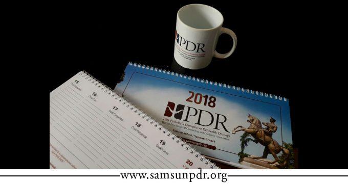 Türk PDR-Der Samsun Şubesi Üyeleri, 2018 Hediyeleriniz Hazır