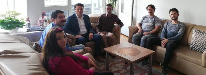 Eğitim-Bir Sen İlkadım İlçe Yönetimi Adaylarından Şubemize Ziyaret