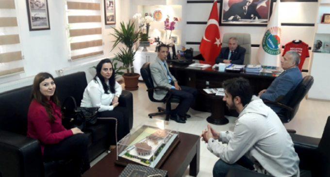 İlkadım Belediye Başkanı Necattin Demirtaş'a Hayırlı Olsun Ziyareti