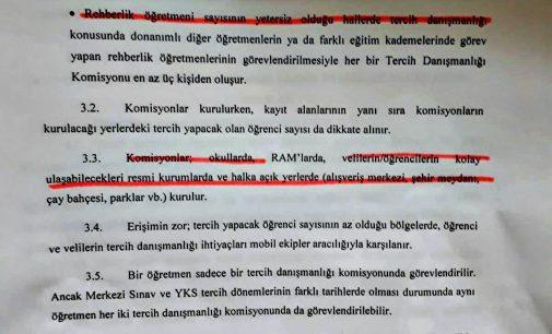 REHBERLİK PERSONELİ 'TERCİH DÖNEMİ GÖREVLENDİRME' AÇIKLAMAMIZ