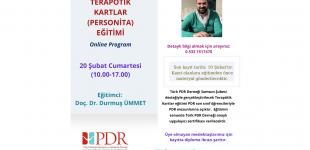 TERAPÖTİK KARTLAR (PERSONİTA) EĞİTİMİ (ONLİNE PROGRAM)